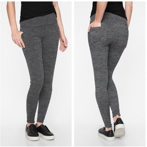 Athleta Metro High Waisted Leggings With Pockets
